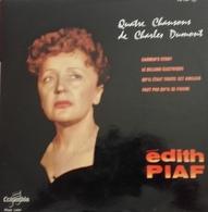 "Edith Piaf  ""  Quatre Chansons De Charles Dumont  "" - Special Formats"