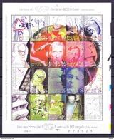 België 2001 Blok Nr 92 (nr 3024/43) **, Zeer Mooi Lot 3761 - Collections (sans Albums)