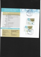 ARGENTINA  2007 The 100th Anniversary Of The Crossing Of The Rio De La Plata By Balloon   LIBRETTO STAMP FDAY CANCELLED - Booklets