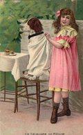 3045 Cpa Fantaisie - Le Déjeuner De Médor - Autres