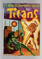 Titans N°48La Guerre Des étoiles - Machine-Man - Mikros - Dazzler - Histoire Des Jeux Olympiques... - Titans