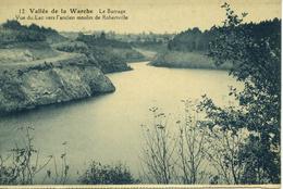 Vallée De La WARCHE Le Barrage Vue Du Lac Vers L'ancien Moulin De Robertville - Malmedy