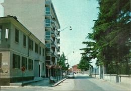 Sannazzaro De' Burgondi (Pavia) Via G. Marconi E Stazione FF.SS. - Pavia