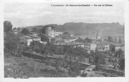 63 - SAINT BONNET LE CHASTEL - VUE DU VILLAGE ET LE CHATEAU - France