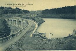 Vallée De La WARCHE Le Barrage Vu De La Route De Walk - Malmedy