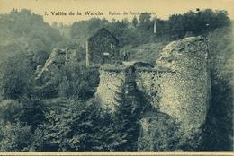 Vallée De La WARCHE Ruines De REINHARDSTEIN Animée - Malmedy
