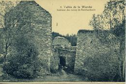 Vallée De La WARCHE Intérieur Des Ruines De REINHARDSTEIN - Malmedy