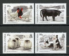 Tristan Da Cunha, Yvert 590/593, MNH - Tristan Da Cunha