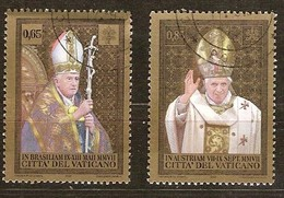 Vatican Vatikaanstad 2008 Yvertn° 1470-1471 (°) Oblitéré Used Cote 4,50 Euro - Vatican