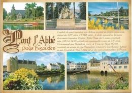 29 - PONT L'ABBÉ - CAPITALE DU PAYS BIGOUDEN - 5 PETITES VUES - CPM - VIERGE - - Pont L'Abbe