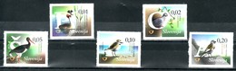 1158/ Slowenien Slovenia 2015 Mi.No. 1142 - 1146 ** MNH 5v Birds Vogel Black Stork White Winged Snowfinch Ciconia Nigra - Slowenien
