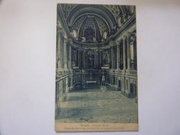 """Cartolina Viaggiata """"CASERTA - Palazzo Reale. Cappella Riccamente Decorata Di Marmi ( Vanvitelli )"""" 1932 - Caserta"""