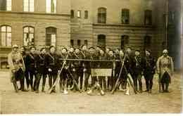 Les Officiers Du 23° Bataillon De Chasseurs Alpins, Gleiwitz, 5 Avril 1920 - Guerra, Militari