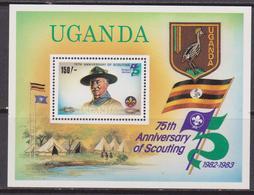 Uganda Scout Set MNH - Nuovi