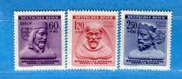 (Mn1) BOEMIA & MORAVIA ** 1943 - SECOURS D'HIVER. Yvert. 102-103-104.    Vedi Descrizione - Unused Stamps