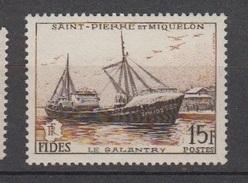 S.P.M.-1956-N°352** F.I.D.E.S. - St.Pierre & Miquelon