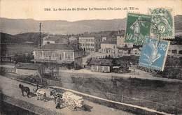 43-SAINT-DIDIER- LA GARE LA SEAUVE - Saint Didier En Velay