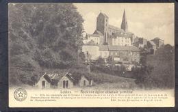 LOBBES - Ancienne église Abbataile Primitive. (Feldpost) - Lobbes