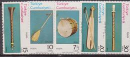 Turchia Turkey - Musical Instruments Set MNH - Musica