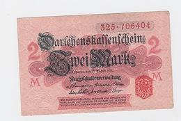 Billet De 1 Mark  Du 12-8-1914  Pick 54 Neuf Papier Rouge - Altri