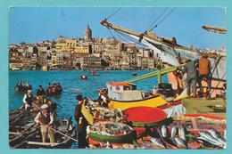 ISTANBUL FISH MARKET ON THE GOLDEN HORN 1965 - Turchia