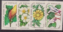 Cipro Fiori Flowers Flora Set MNH - Flora