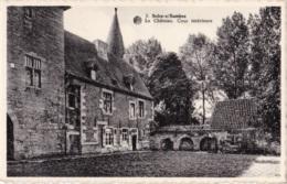 Solre Sur Sambre Le Château Cour Intérieure - Thuin