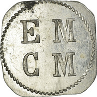 Monnaie, France, E. M. C. M, Saint-Hippolyte-du-Fort, 25 Centimes, SUP - Monétaires / De Nécessité