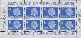Turchia Turkey - Sergisi Sheet MNH - 1921-... Repubblica