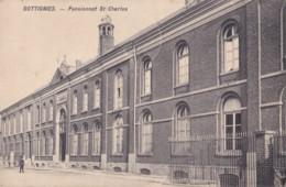 Dottignies Pensionnat St-Charles Circulée En 1911 - Mouscron - Moeskroen
