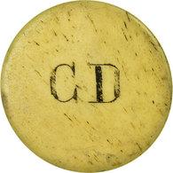Monnaie, France, C. D (C. Dastarac, Patissier, 9 Rue Fondaudège), Bordeaux, 10 - Monetary / Of Necessity