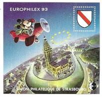 CNEP Europhilex 93 Salon Philatelique De Strasbourg - CNEP