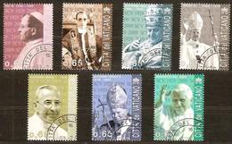 Vatican Vatikaan 2009 Yvertn° 1483-1489 (°) Oblitéré Cote 14,00 Euro - Oblitérés