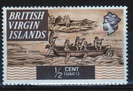 British Virgin Islands 1970 Queen Elizabeth Single ½ Cent  Stamp From The Definitive Set. - British Virgin Islands