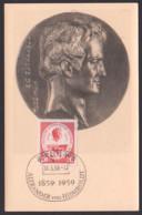 Alexander Von Humbold 1859 - 1959, Maxkarte 15.5.59, SoSt. Berlin W8 - Maximumkarten (MC)