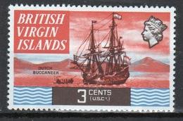 British Virgin Islands 1970 Queen Elizabeth Single 3 Cent  Stamp From The Definitive Set. - British Virgin Islands