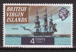 British Virgin Islands 1970 Queen Elizabeth Single 4 Cent  Stamp From The Definitive Set. - British Virgin Islands