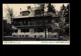 C1335 PORTSCHACH WORTHERSEE - HAUS BAUDISCH PHOTOGRAPHIC PSOTCARD CIRCULATED 1951 NO STAMP - Pörtschach