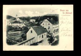 C1336 GRUSS AUS ST. MICHAEL HANS STOLZLE CIRCULATED SMALL FORMAT - Austria