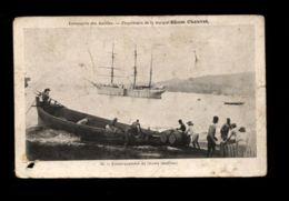 C1342 MARTINIQUE - EMBARQUEMENT DE RHUMS COMPAGNIE DES ANTILLES PROPRIÉTAIRE DE LA MARQUE RHUM CHAUVET - Martinique