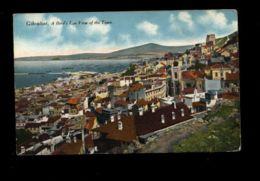 C1346 GIBRALTAR GIBILTERRA - BIRD'S EYE VIEW OF THE TOWN SMALL FORMAT - Gibilterra