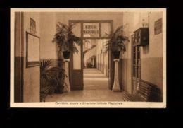 C1358 VICO EQUENSE - REGIO ISTITUTO FEMMINILE SANTISSIMA TRINITÀ E PARADISO - CORRIDOIO E DIREZIONE MAGISTRALE VG 1934 - Altre Città