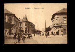 C1379 SZABADKA - DAMJANICH UTCA ANIMATED CIRCULATED 1919 - Serbia