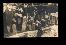 C1385 TURQUIE TURKEY - ISTANBUL CONSTANTINOPLE - CIMITIÈRE TURC À SCUTARI TURKISH CEMETERY IN SCUTARI PHOTGRAPHIC CARD - Turchia