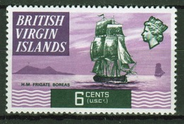 British Virgin Islands 1970 Queen Elizabeth Single 6 Cent  Stamp From The Definitive Set. - British Virgin Islands