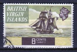 British Virgin Islands 1970 Queen Elizabeth Single 8 Cent  Stamp From The Definitive Set. - British Virgin Islands