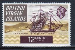 British Virgin Islands 1970 Queen Elizabeth Single 12 Cent  Stamp From The Definitive Set. - British Virgin Islands