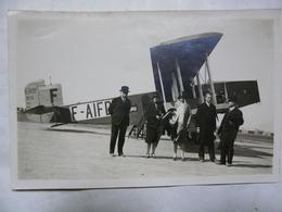 PHOTO ORIGINALE-Avion De Transport Civil Le021 (F-AIFD) AIR UNION Et Célébrités ? - Aviación