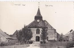 Carte 1950 MONTLOUE / EGLISE ET PLACE - France