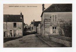 - CPA SAINT-MERY (77) - Rue Des Gâtinais - Edition Lesueur - - France